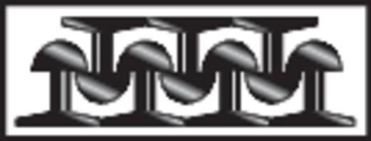 Binder Band Klittenband om vast te plakken Paddenstoel (l x b) 5000 mm x 25 mm Zwart 1 stuks