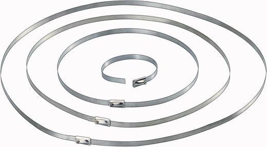 Conrad Components 546574 Kabelbinder 201 mm Zilver 10 stuks