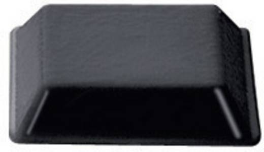 PB Fastener BS-32-BK-R-10 Apparaatvoeten Zelfklevend, Vierkant Zwart (b x h) 12.7 mm x 3 mm 10 stuks