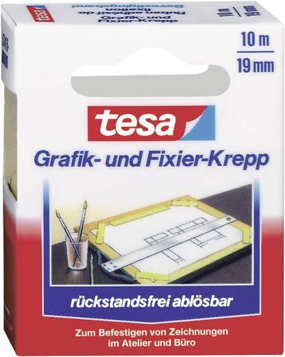 Tesa gekruld plakband voor tekeningen en vastzetten/57415-00000-01 10 m x 19 mm