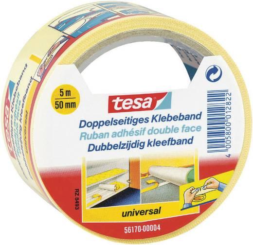 tesa Dubbelzijdige tape Wit (l x b) 5 m x 50 mm Inhoud: 1 rollen