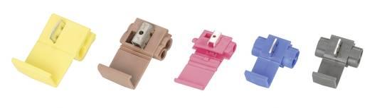 3M Zwakstroomverbinder Flexibel: 0.75-1 mm² Massief: 0.75-1 mm² Aantal polen: 2 1 stuks Blauw