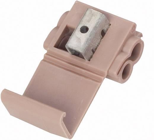 3M 567 Zwakstroomverbinder Flexibel: 1.5-4 mm² Massief: 1.5-4 mm² Aantal polen: 2 1 stuks Bruin