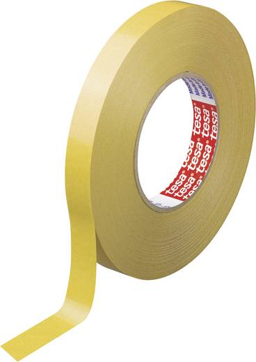 tesa Dubbelzijdige tape Wit (l x b) 50 m x 25 mm Acryl Inhoud: 1 rollen
