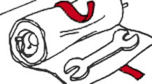 Fastech Klittenband om te bundelen Haak- en lusdeel (l x b) 5000 mm x 20 mm Wit 5 m