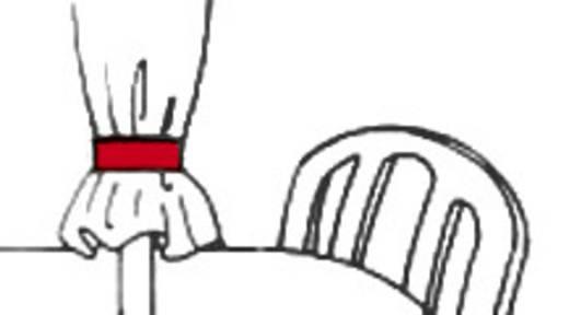 Fastech Klittenband om te bundelen Haak- en lusdeel (l x b) 1000 mm x 20 mm Blauw 1 m