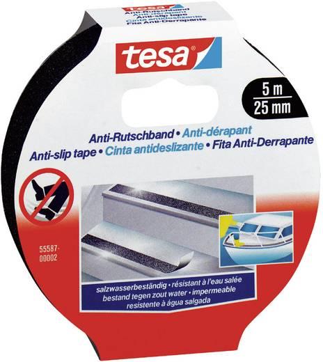 tesa Anti-slip tape Zwart (l x b) 5 m x 25 mm Polyacrylaatzuurester Inhoud: 1 rollen