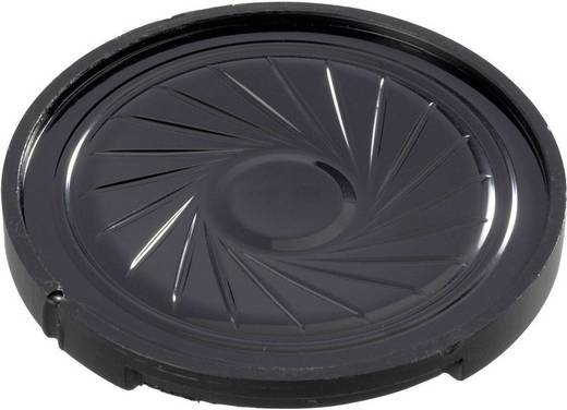 Kunststof luidspreker LSF-serie Geluidsontwikkeling: 89 dB 8 Ω Nominale belastbaarheid: 0.5 W 360 Hz Inhoud: 1 stuks