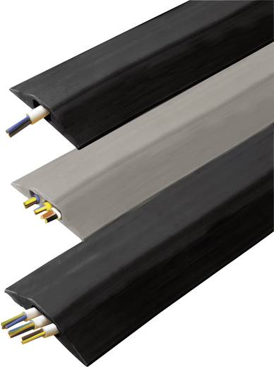 Kabelbrug Snap Fit Standard (l x b x h) 3000 x 68 x 11 mm Zwart Vulcascot Inhoud: 1 stuks