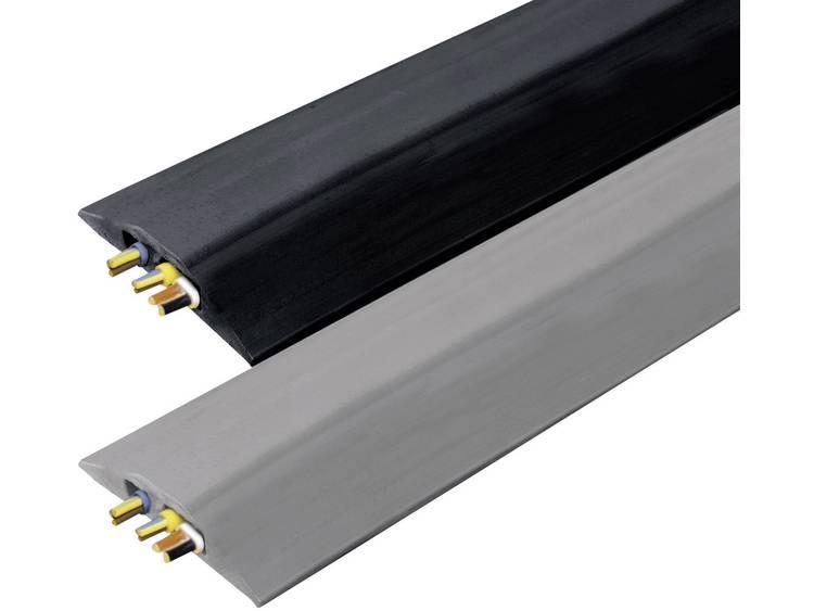 Vulcascot Kabelbrug Rubber Grijs Aantal kanalen: 2 3000 mm Inhoud: 1 stuks
