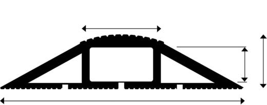 Kabelbrug Snap Fit MCP (l x b x h) 3000 x 83 x 20 mm Zwart Vulcascot Inhoud: 1 stuks