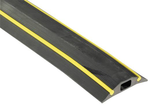 Kabelbrug Snap Fit HAZ (l x b x h) 3000 x 83 x 16 mm Zwart Vulcascot Inhoud: 1 stuks