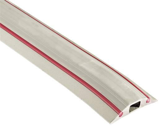 Kabelbrug Snap Fit DAN (l x b x h) 3000 x 83 x 16 mm Grijs Vulcascot Inhoud: 1 stuks