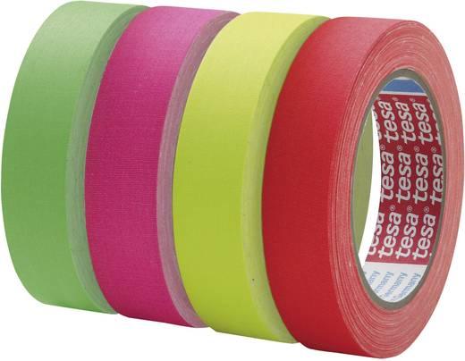 tesa Textieltape Neon-pink (l x b) 25 m x 38 mm Inhoud: 1 rollen