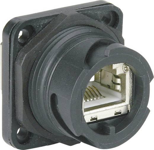 Metz Connect 1401213312KE RJ45 Industriële inbouwconnector IP67 V1 Aantal polen: 8P8C Inhoud: 1 stuks