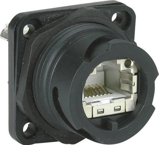 Metz Connect 1401113312KE 1401113312KE RJ45 Industriële inbouwbus IP67 V1 Inhoud: 1 stuks