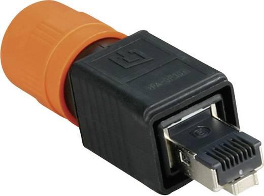 Metz Connect 1401445012KE RJ45 Industriële connector IP67 V4 Aantal polen: 8P8C Inhoud: 1 stuks