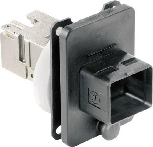 Metz Connect 1401243312KE 1401243312KE RJ45 Industriële inbouwconnector IP67 V4 Inhoud: 1 stuks