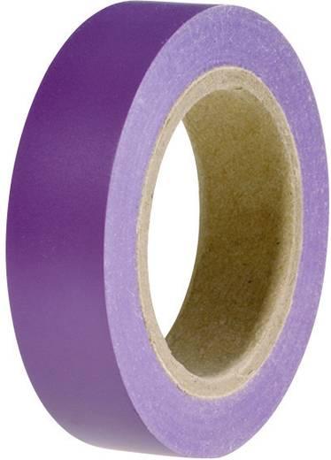 HellermannTyton HelaTape Flex 15 Isolatietape Violet (l x b) 10 m x 15 mm Inhoud: 1 rollen