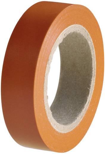 HellermannTyton HelaTape Flex 15 Isolatietape Oranje (l x b) 10 m x 15 mm Inhoud: 1 rollen