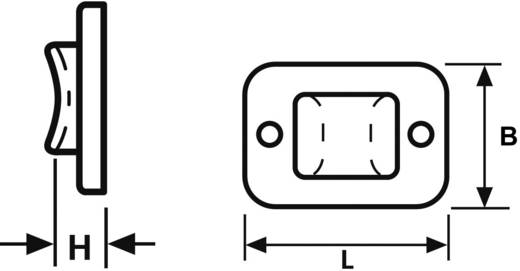 HellermannTyton 151-11319 TY3G1S-PA66-NA-C1 Bevestigingssokkel Zelfklevend, Schroefbaar halogeenvrij Transparant 1 stuks