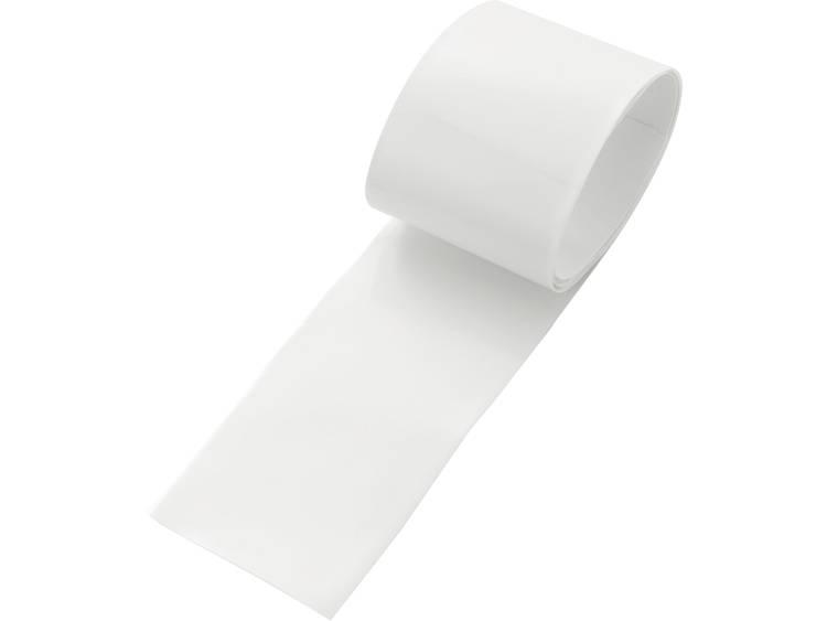 TRU COMPONENTS 93014c86e Accukrimpkous zonder lijm Wit 130 mm Krimpverhouding:2:1 1 stuks