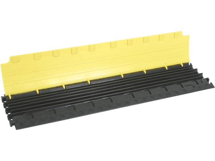 Adam Hall Kabelbrug Polyurethaan Zwart, Geel Aantal kanalen: 6 1000 mm Inhoud: 1 stuks