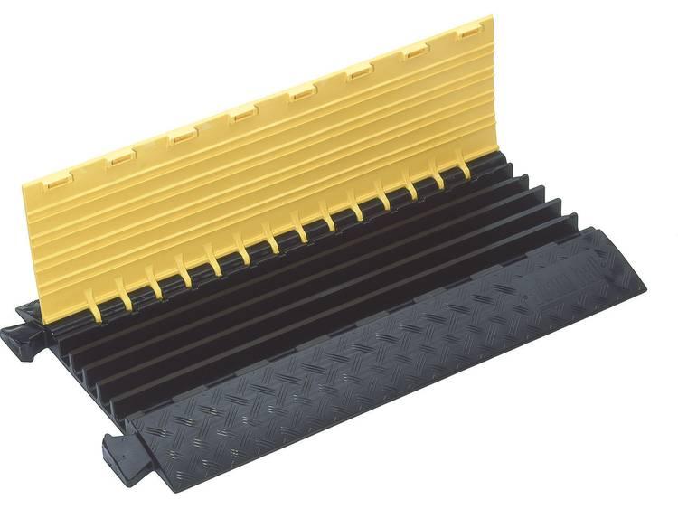 Adam Hall Kabelbrug Polyurethaan Zwart, Geel Aantal kanalen: 5 890 mm Inhoud: 1 stuks