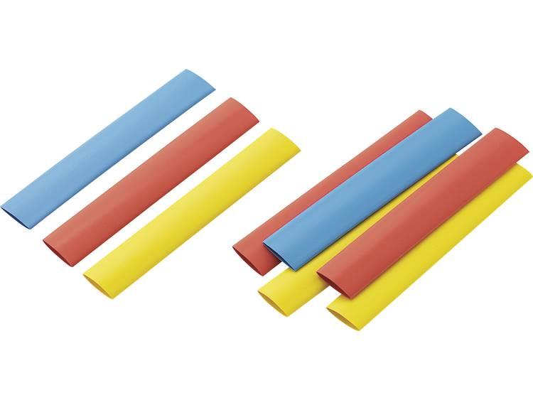 TRU COMPONENTS 1570888 Krimpkous assortiment Bont 12.50 mm Krimpverhouding:2:1 9 stuks