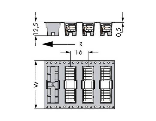 Male header (standaard) 2092 Totaal aantal polen 4 WAGO 733-364/105-604/997-406 Rastermaat: 2.50 mm 300 stuks