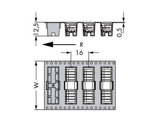 WAGO 733-363/105-604/997-406 Male header (standaard) 2092 Totaal aantal polen 3 Rastermaat: 2.50 mm 300 stuks