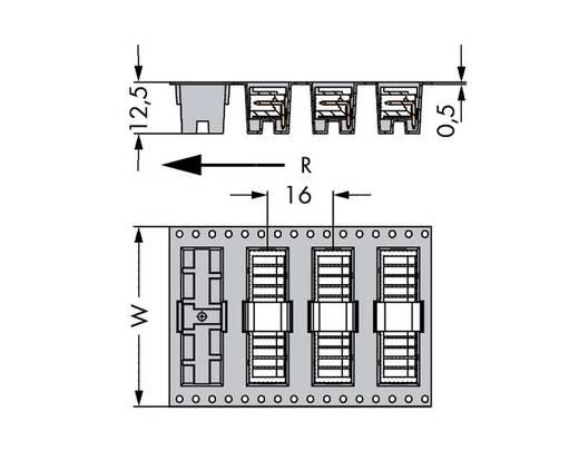 Male header (standaard) Totaal aantal polen 2 WAGO 733-362/