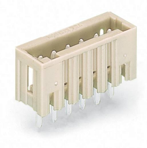 WAGO 734-136 Male header (standaard) 2140 Totaal aantal polen 6 Rastermaat: 3.50 mm 100 stuks