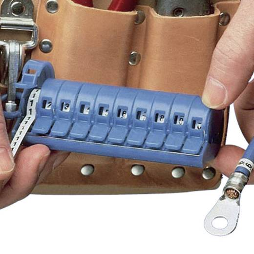 Kabelmerker PMD PMD-0-9 Blauw Panduit Inhoud: 1 stuks