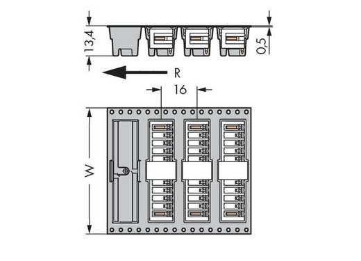 Male header (standaard) 2140 Totaal aantal polen 5 WAGO 734-165/105-604/997-405 Rastermaat: 3.50 mm 280 stuks