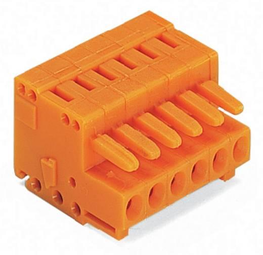 WAGO 734-206 Busbehuizing-kabel 734 Totaal aantal polen 6 Rastermaat: 3.81 mm 100 stuks