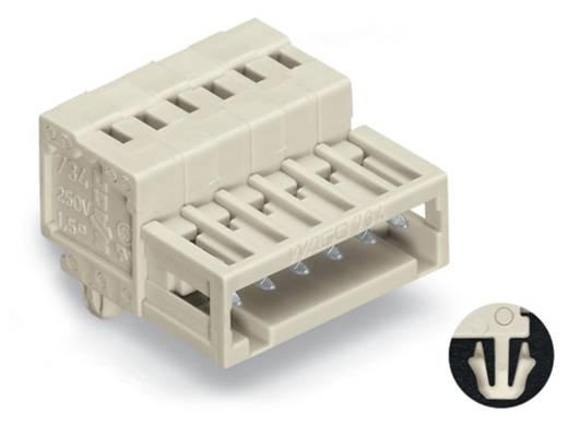 WAGO 734-306/018-000 Male header (standaard) 2140 Totaal aantal polen 6 Rastermaat: 3.50 mm 100 stuks