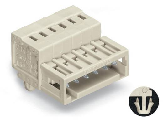 WAGO 734-312/018-000 Male header (standaard) 2140 Totaal aantal polen 12 Rastermaat: 3.50 mm 50 stuks