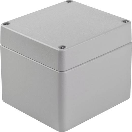 Bopla EUROMAS A 116 Universele behuizing 100 x 100 x 81 Aluminium Zilver-grijs (RAL 7001) 1 stuks