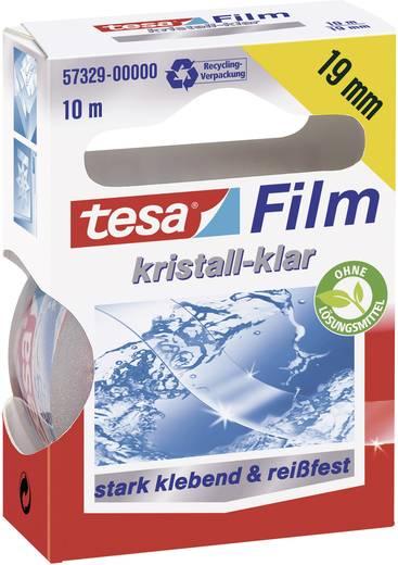 tesa tesafilm Transparant (l x b) 10 m x 19 mm Inhoud: 1 rollen