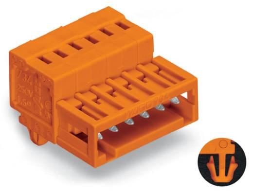 Male header (standaard) 2140 Totaal aantal polen 9 WAGO 734-339/018-000 Rastermaat: 3.81 mm 50 stuks