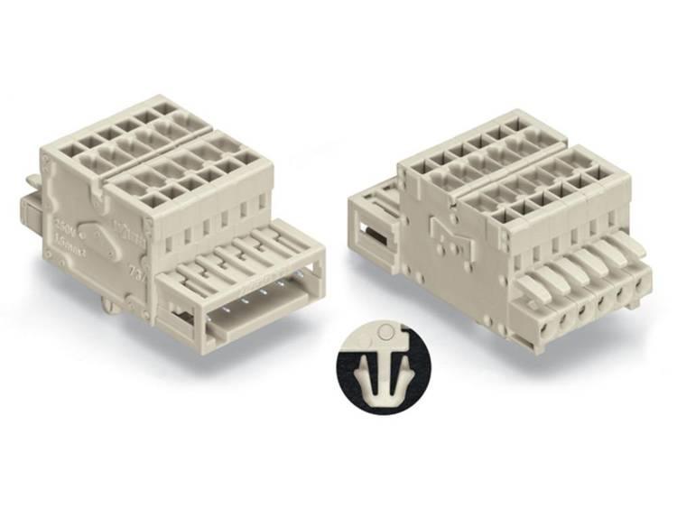 WAGO 734-363-008-000 Combi-connector Aantal polen: 3 Inhoud: 50 stuks