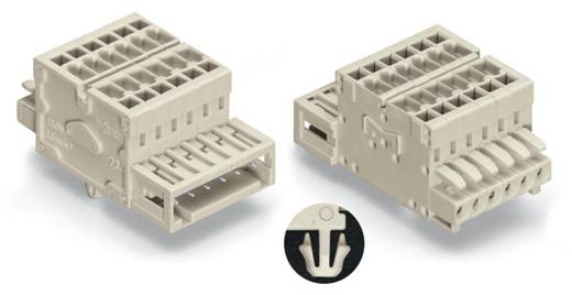 Combi-connector 2140 Totaal aantal polen 4 WAGO 734-364/008-000 Rastermaat: 3.50 mm 50 stuks