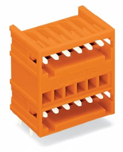 Male header (standaard) 2140 Totaal aantal polen 10 WAGO 734-435 Rastermaat: 3.81 mm 100 stuks