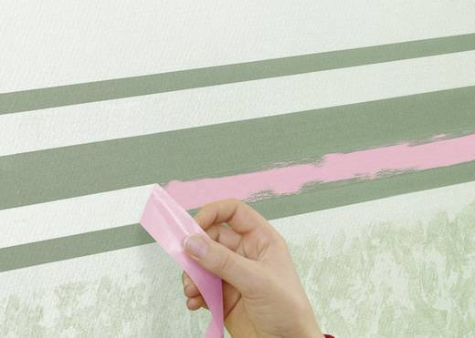 tesa Schilderstape Roze (l x b) 25 m x 38 mm Inhoud: 1 rollen