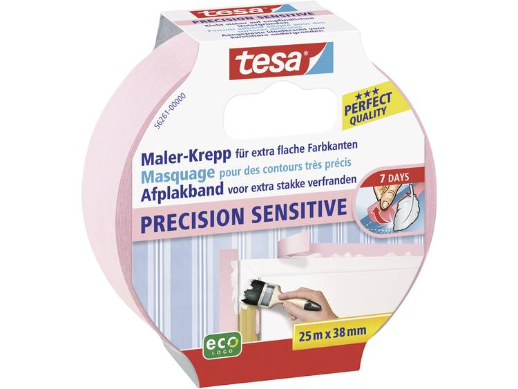 Tesa precision sensitive afplakband 25 m x 38 mm