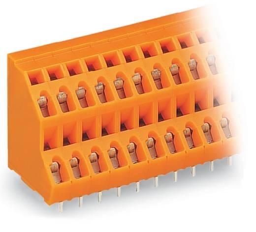 Dubbeldeksklem 2.50 mm² Aantal polen 48 DBL DECK PCB ORANGE WAGO Oranje 14 stuks