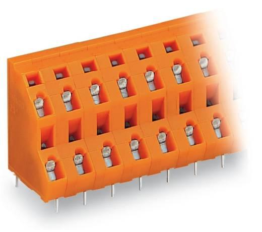 Dubbeldeksklem 2.50 mm² Aantal polen 8 736-654 WAGO Oranje 63 stuks