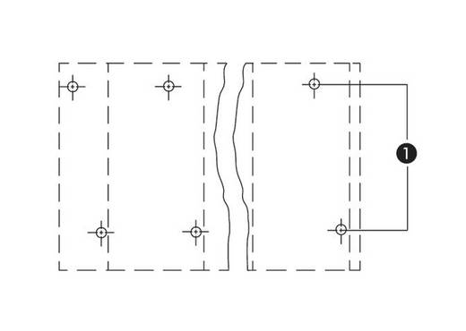 Dubbeldeksklem 2.50 mm² Aantal polen 12 736-756 WAGO Grijs 28 stuks