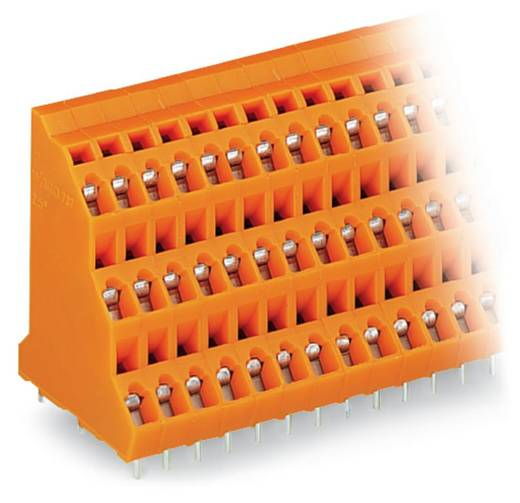 Drie niveau klem 2.50 mm² Aantal polen 6 737-302 WAGO Oranje 92 stuks